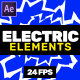 Electric Elements // After Effects