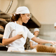 multiethnic team of bakers working together at baking manufacture - PhotoDune Item for Sale