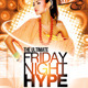 Night Hype Party Flyer Template - GraphicRiver Item for Sale