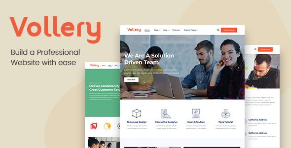 Vollery – Multi-Purpose HubSpot Theme