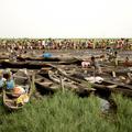 Market of Ganvie in Benin