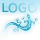 Atmospheric Waterfall Logo