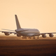 Airplane taking off from airport runway - PhotoDune Item for Sale