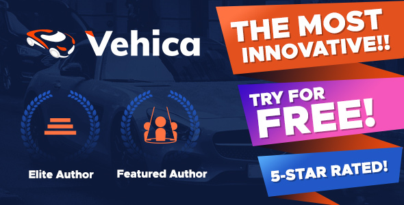 Vehica - Car Dealer & Automotive Listing