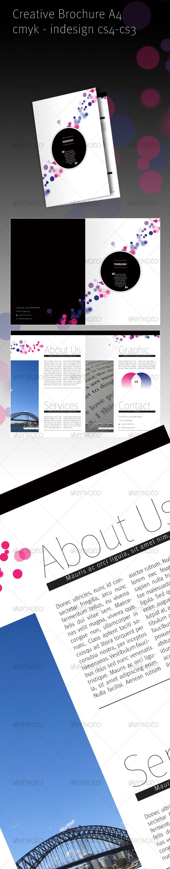 Creative Brochure A4 - Corporate Brochures