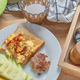 The homemade breakfast with a cup of coffee - PhotoDune Item for Sale