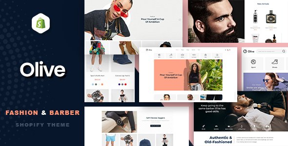 Olive – Fashion & Barber Store Shopify Theme