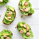 Tuna sandwiches with avocado and lettuce leaves - PhotoDune Item for Sale