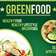 Health Food Flyer Template | GreenFood - GraphicRiver Item for Sale