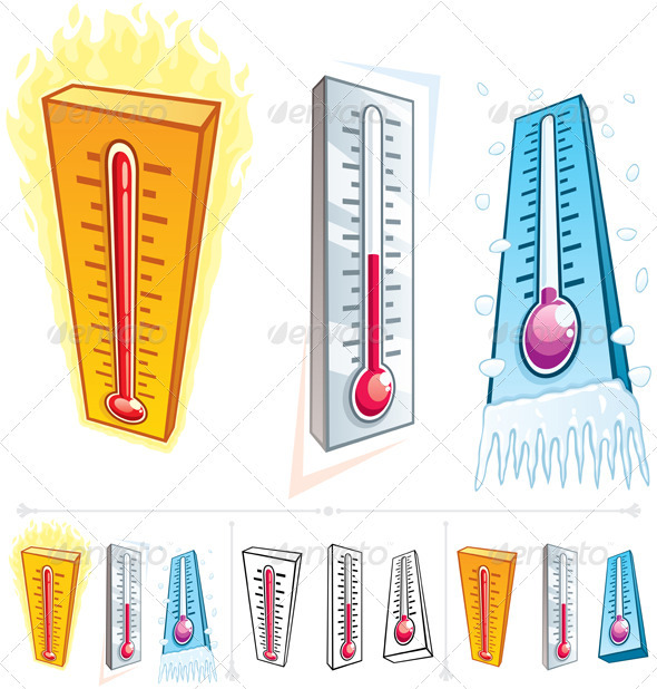 Thermometer - Man-made Objects Objects