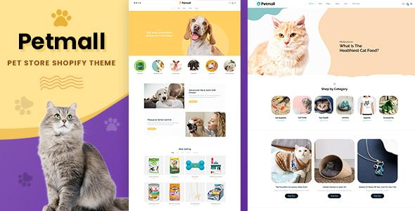 Petmall - Pet Shop, Animal Store Shopify Theme