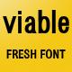 Viable Sans Serif Font - GraphicRiver Item for Sale