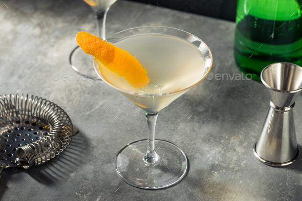 Boozy Refreshing Korean Soju Martini - Stock Photo - Images