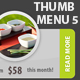 Thumb web menu navigation place your photo! v5 - GraphicRiver Item for Sale