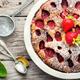 Slice of tasty homemade strawberry tart - PhotoDune Item for Sale
