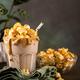 Popcorn milkshake with sea salt caramel - PhotoDune Item for Sale
