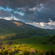 Storm Clouds and Dramatic Weather at Bieszczady Mountains in Poland - PhotoDune Item for Sale