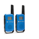Blue walkie talkie with black keypad isolated over white background - PhotoDune Item for Sale