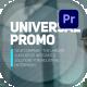 Universal Promo For Premiere Pro - VideoHive Item for Sale