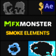 Cartoon Smoke | After Effects - VideoHive Item for Sale