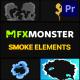 Cartoon Smoke | Premiere Pro MOGRT - VideoHive Item for Sale