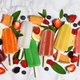 Colorful popsicles with fresh fruits - PhotoDune Item for Sale