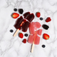 Melted popsicles with berries - PhotoDune Item for Sale