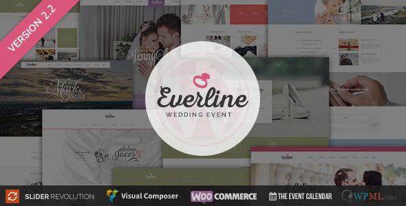 Wedding Event - Everline WordPress Theme