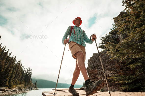 In hike - Stock Photo - Images