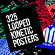 Seamless Loop Kinetic Posters - VideoHive Item for Sale