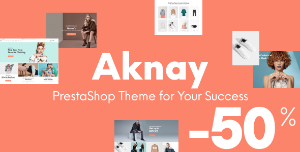 Aknay – Multipurpose Prestashop Theme