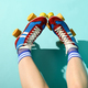 First person POV of the legs of a woman wearing roller skates - PhotoDune Item for Sale