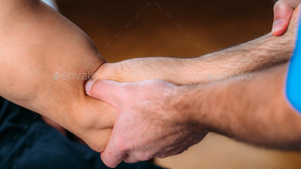 Arm Sports Massage Physical Therapy - Stock Photo - Images