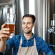 Quality control, tasting and enjoying fresh craft beer - PhotoDune Item for Sale