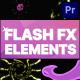 Flash FX Elements Pack | Premiere Pro MOGRT - VideoHive Item for Sale