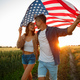 4th of July. USA independence day celebrating with national American flag - PhotoDune Item for Sale