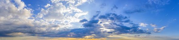 sun rays - Stock Photo - Images
