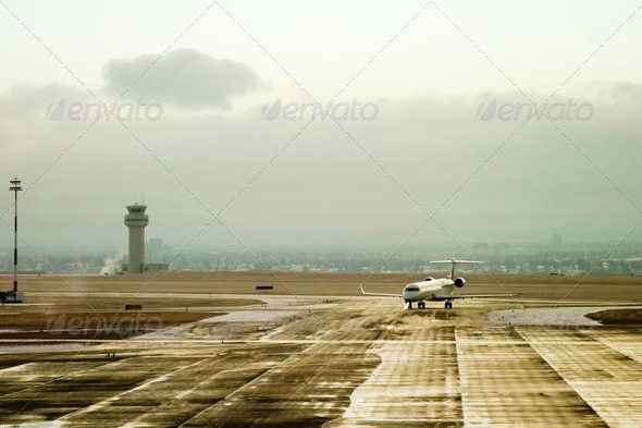 Airport Activity - Stock Photo - Images