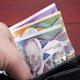 Barbadian dollar in the black wallet - PhotoDune Item for Sale
