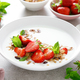 Strawberry granola with greek yogurt, nuts and fresh berries for breakfast - PhotoDune Item for Sale