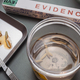 Analysis of larvae from corpse involved in murder in crime lab, conceptual image - PhotoDune Item for Sale