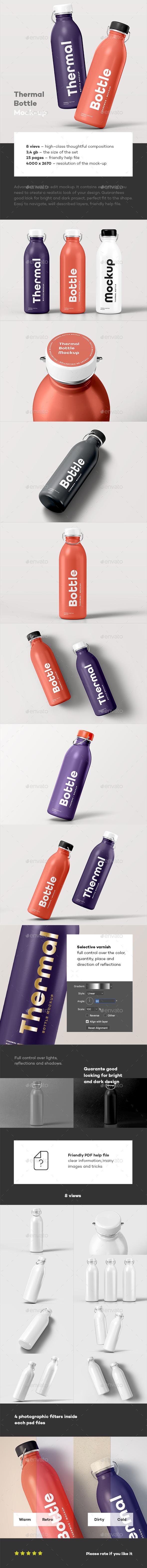 Thermal Bottle Mock-up