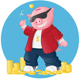 Piggy - GraphicRiver Item for Sale