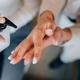 Female hands applying antibacterial liquid soap close up - PhotoDune Item for Sale