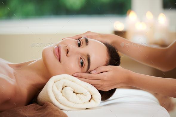 Spa procedure in salon - Stock Photo - Images