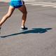 legs male runner run on gray asphalt - PhotoDune Item for Sale