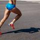legs female runner run on gray asphalt - PhotoDune Item for Sale