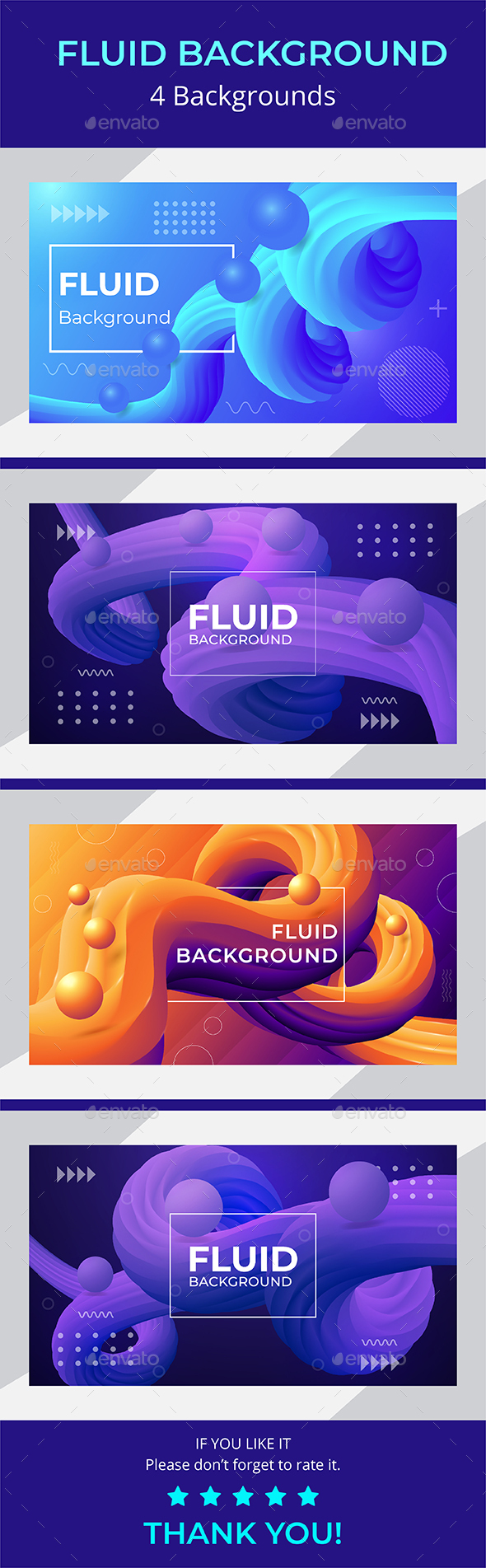 Fluid background with 3d fluid shape, ball, and shiny effect