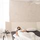 Restful guy sleeping under white sheets - PhotoDune Item for Sale