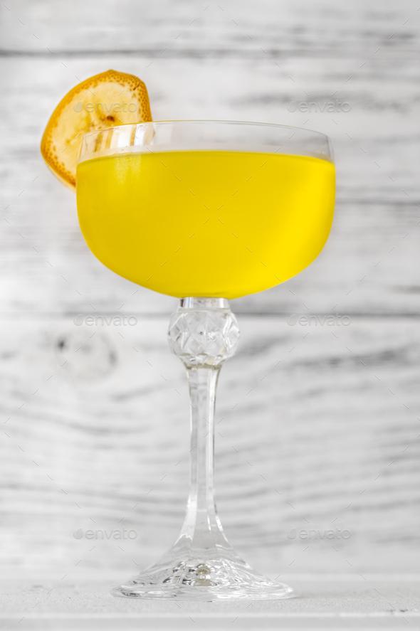 Yellow Submarine Cocktail - Stock Photo - Images